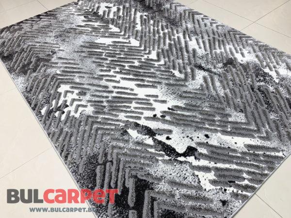 релефен килим Спарта 2504 сив