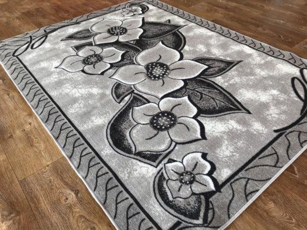 мокетен килим монца сив