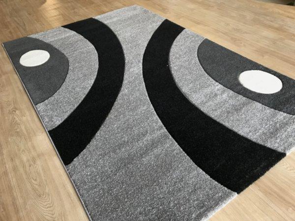релефен килим съни 8273 сив
