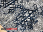 релефен килим Монако 132 син