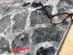 релефен килим Монако 104 син