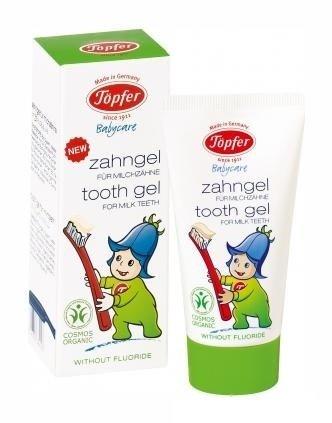 Topfer Измиващ бебешки гел за млечни зъбки 50 мл.