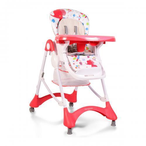 Cangaroo Столче за хранене Mint червен YO-198