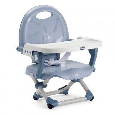 Chicco Столче за хранене Pocket Snack Blue Sky повдигащо
