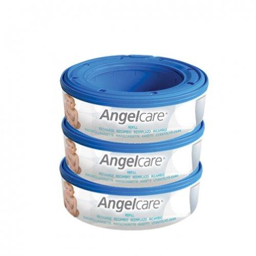 Angelcare Пълнител за кошче за употребени пелени  Captiva 3бр  CAB3
