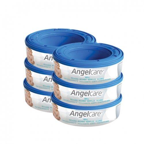Angelcare Пълнител за кошче за употребени пелени  Captiva 6бр  CAB3