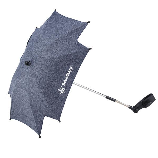 Bebe Stars Универсален чадър за количка джинс 13-181