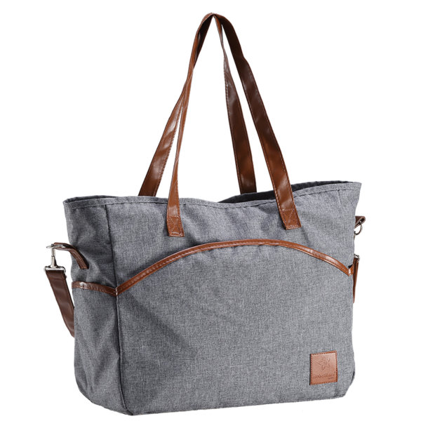 Bebe Stars Чанта за количка Mama Bag сива 560-186