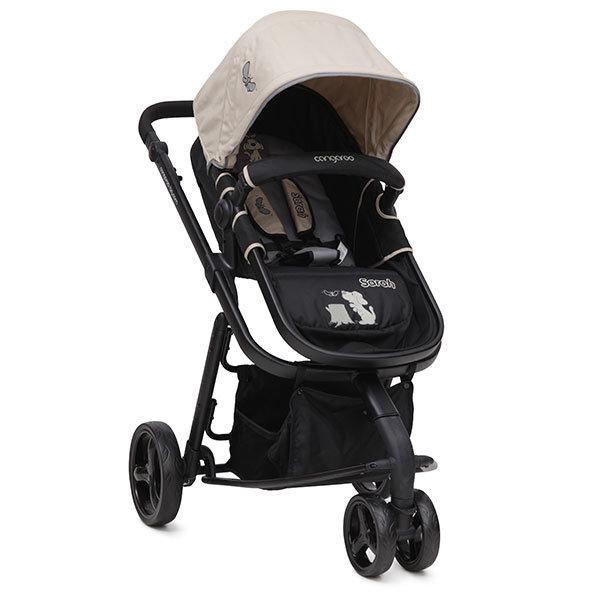 Cangaroo Комбинирана детска количка Sarah бежова