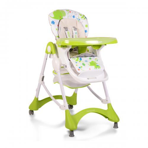 Cangaroo Столче за хранене Mint зелен