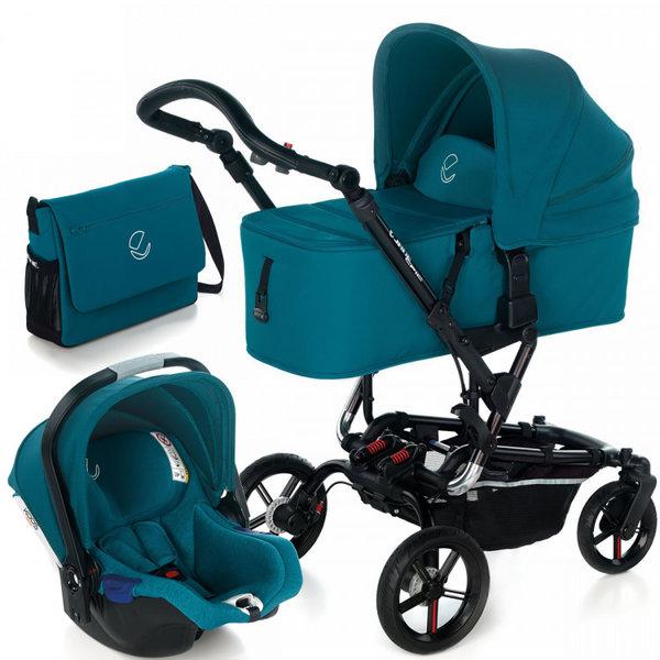 Jane Бебешка количка Epic Formula Koos 3в1 i-Size синя 5482.T33