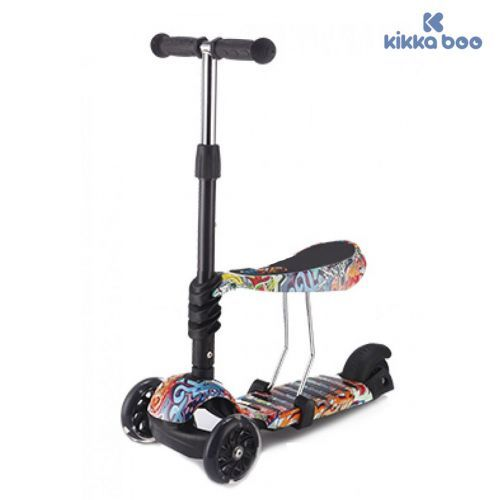 Kikka Boo Тротинетка 3 в 1 Ride and Skate Scretch 31006010020