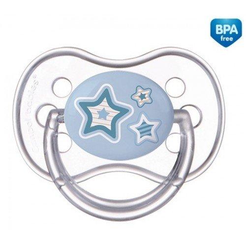 Canpol Бебешка силиконова залъгалка /череша/ Newborn baby 0-6 м 22/562