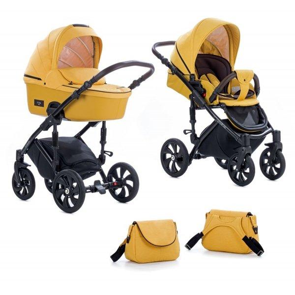 Tutis Комбинирана количка 2 в 1 Viva Life Yellow Yolk col. 075