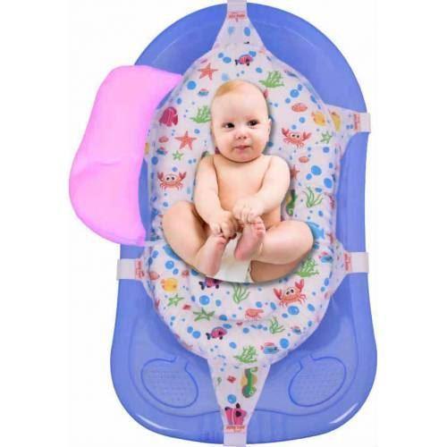 Sevi Baby Шарена подложка за къпане с възглавничка 690