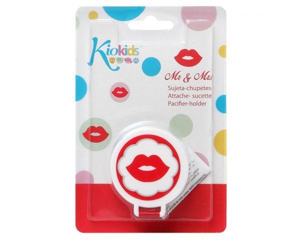 KioKids Клипс за залъгалка Rojo Miss  01449-9