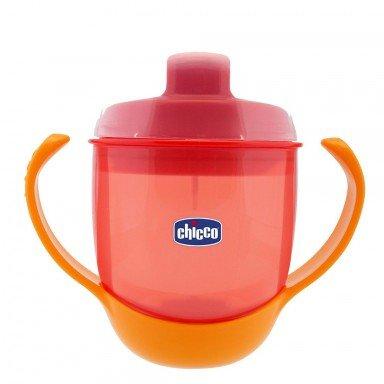Chicco Неразливаща се чаша с твърд накрайник Red 12+ 180 мл.