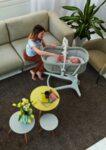 Chicco Baby Hug 4 in 1 - кошара, шезлонг, стол за хранене, първият стол