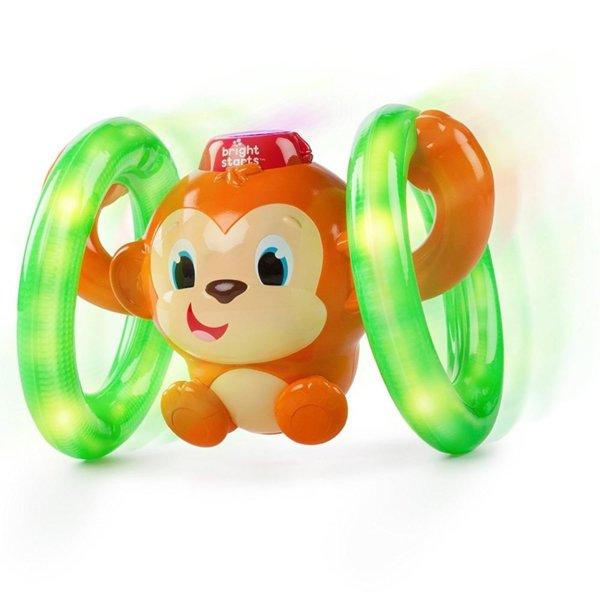 Bright Starts Детска играчка Roll & Glow Monkey 52181