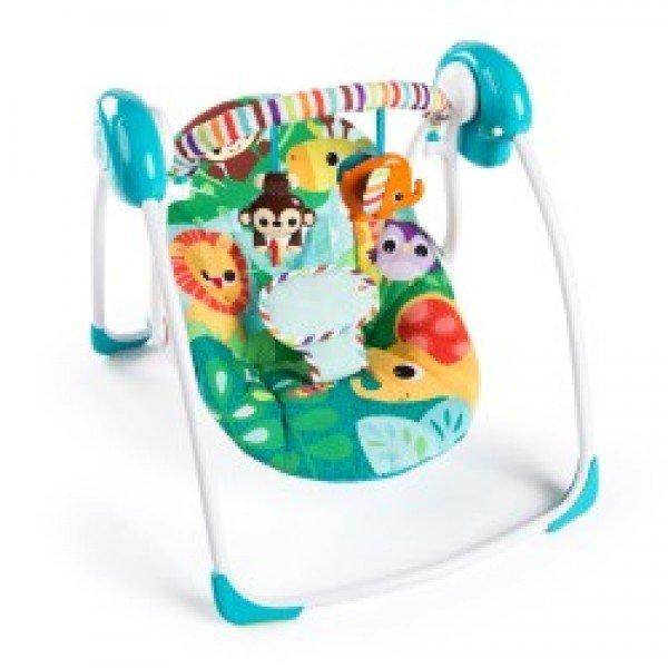 Bright Starts Електрическа бебешка люлка Safari Surprise 10860