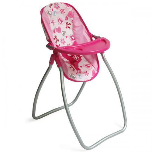 Moni Столче за хранене и люлка за кукли 2в1 Lovely Bear 9397C Nano