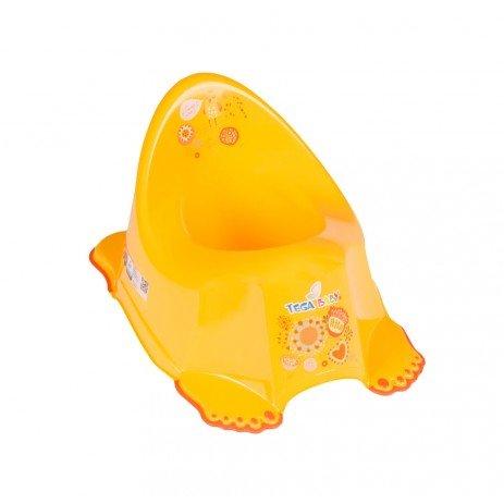 Chipolino Анатомично бебешко гърне Фолк жълт