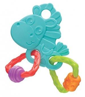 Playgro Бебешка Гризалка кончето Хоп Троп (син цвят) 3м+ PG -0334
