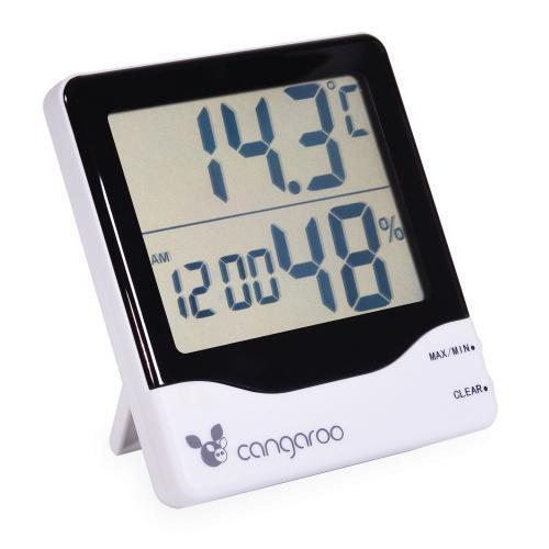 Cangaroo Термометър с дигитален часовник - TL8020