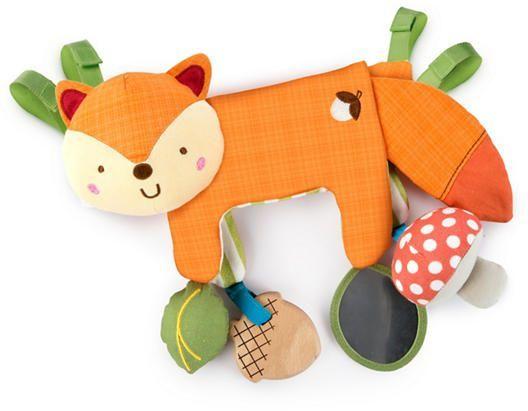 Bright Starts Мека играчка за количка 2 в 1 Foxy forest 11074