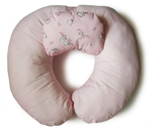 Възглавница за кърмене на бебе с подвижна възглавничка