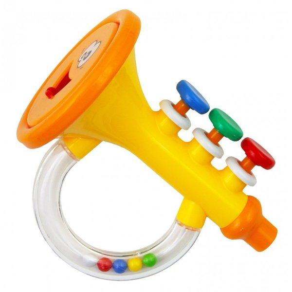Baby Mix Бебешки играчки - Бебешка дрънкалка/тромпет/GW-G23