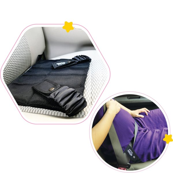 Baby Jem Подложка за бременни за колани на кола
