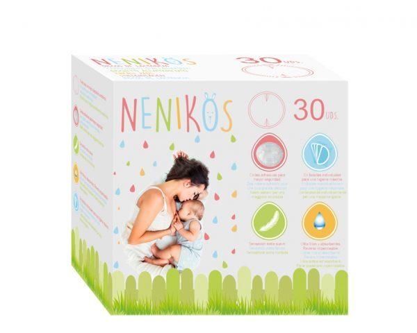 Kio Kids Абсорбиращи подплънки за кърмачки ( 30 броя ) 2119