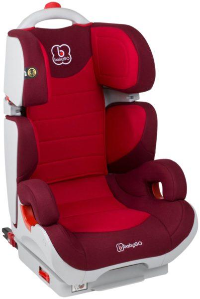 BabyGo Стол за кола Wega Isofix (15-36 кг.) червен