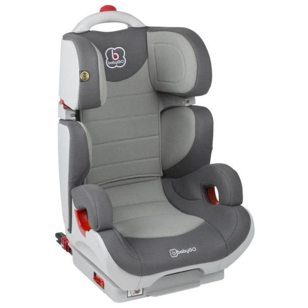 BabyGo Стол за кола Wega Isofix (15-36 кг.) сив