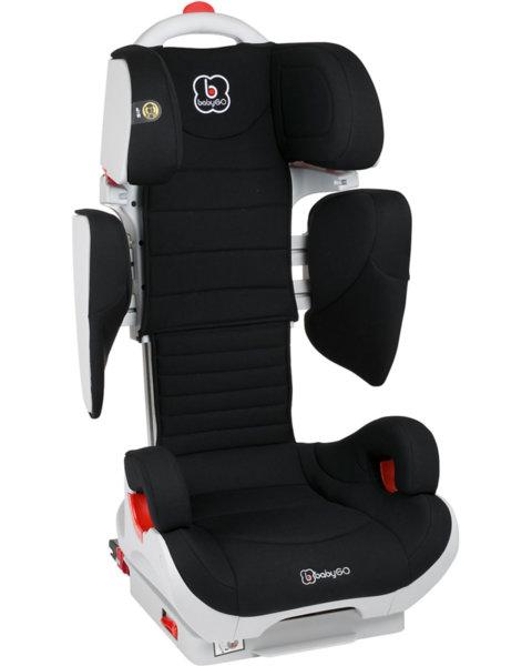 BabyGo Стол за кола Wega Isofix (15-36 кг.) черен