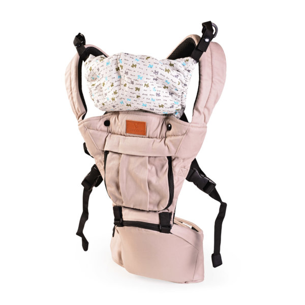 Cangaroo Бебешко кенгуру SKYLINE памук каки BB018