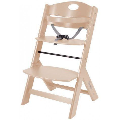 BabyGo Дървен стол за хранене Family Natural