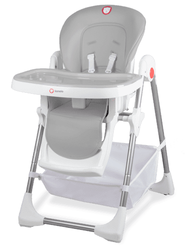 Lionelo Стол за хранене Linn Plus Grey 2157