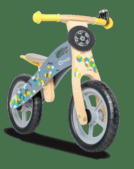 Lionelo Дървено колело за баланс Casper Grey 4540