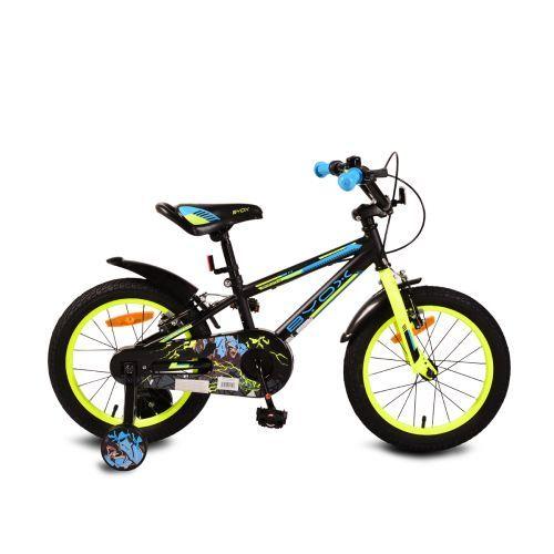 "Byox Детски велосипед Monster 16"" черен"