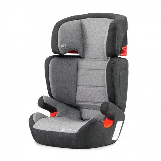 Kinderkraft Детски стол за кола Junior IsoFix (15-36 кг.) Black/Gray