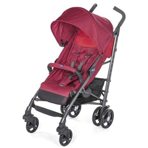 Chicco Лятна детска количка Lite Way Top Red Berry J0301.3