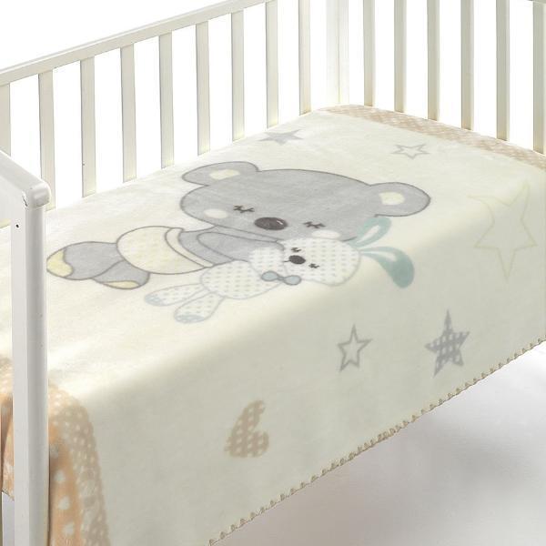 Mora Одеяло за бебе Kids 110/140 beige C74-02/pt1904