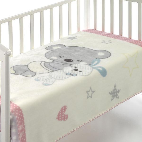 Mora Одеяло за бебе Kids 110/140 beige C74-02/pt1904-Copy