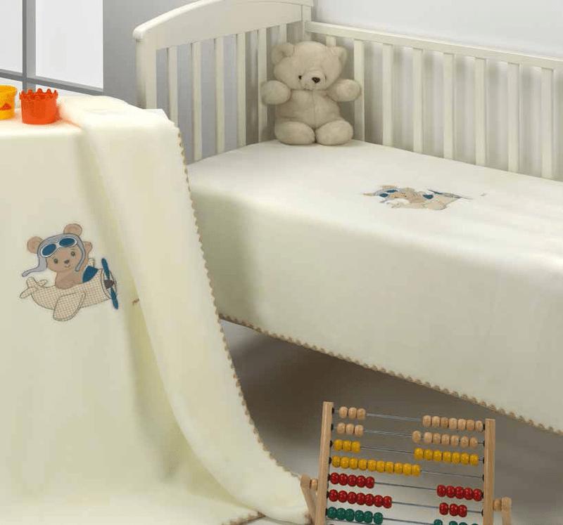Mora Одеяло за бебе Le Jardin 110/140 rosa F46-04/pt0504-Copy