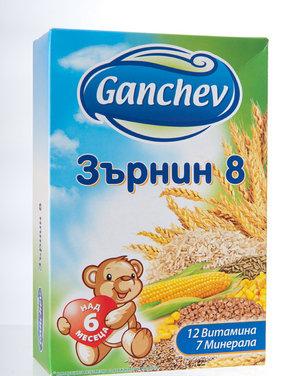 Ганчев Разтворима каша Зърнин 8 200 гр.
