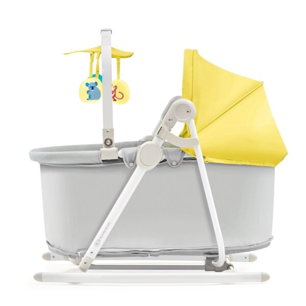 Kinderkraft Шезлонг за бебе 5в1 Unimo жълт 2200