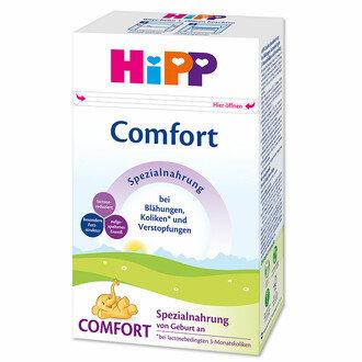 HIPP Бебешко адаптирано мляко Комфорт /Comfort /- за кърмачета при запек и колики  500 гр.