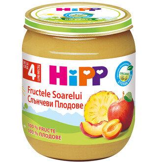 HIPP Бебешки Био  Плодов десерт 125гр